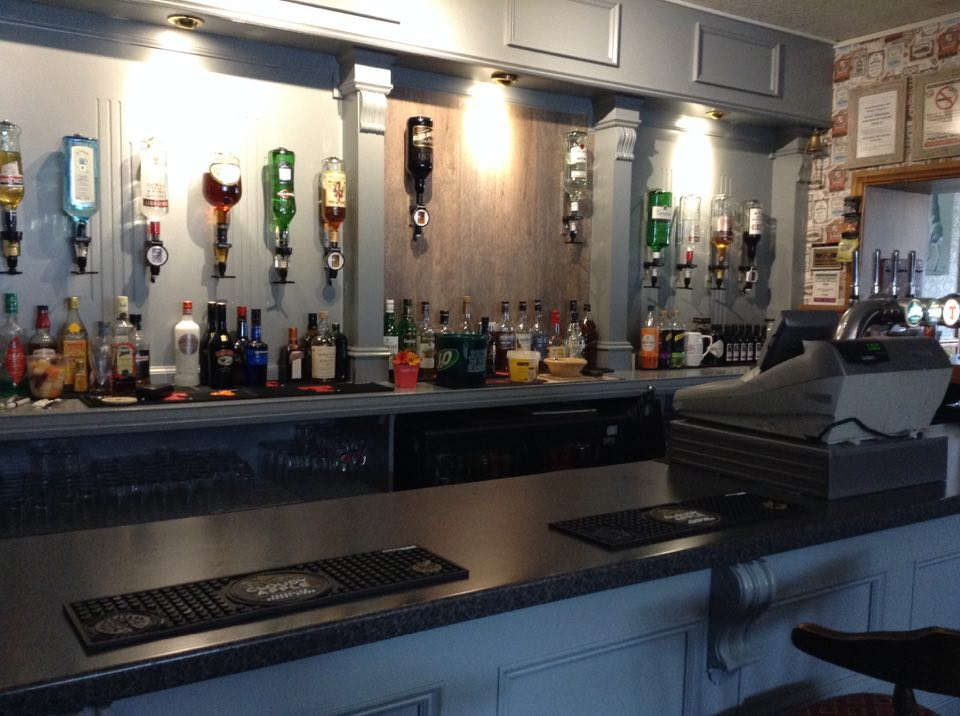 Kinmount hotel new bar