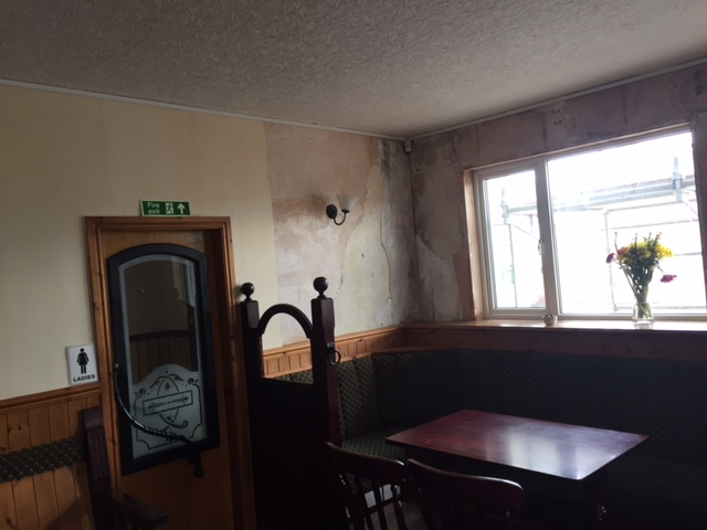 Kinmount hotel old dining room one