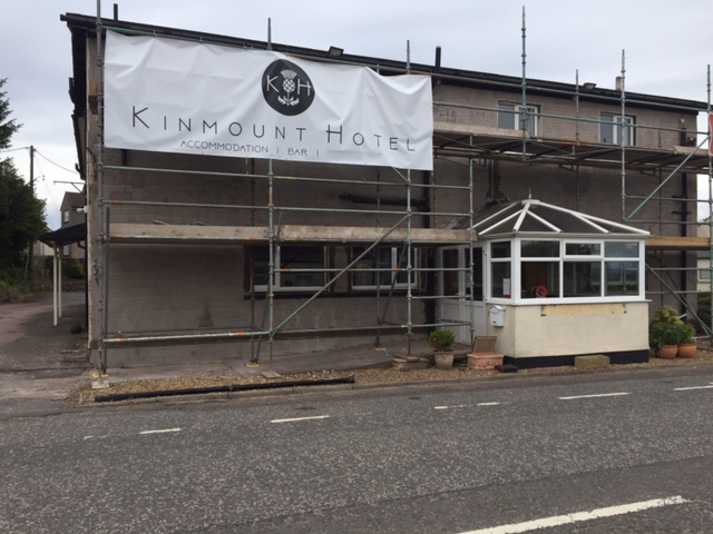 Kinmount hotel new frontage